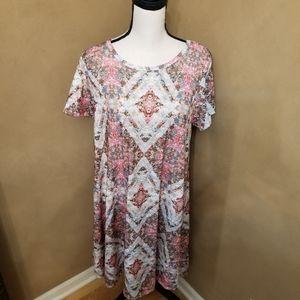 LuLaRoe Short Sleeved Dress in M